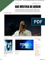 o Despertar Da Era Messiânica