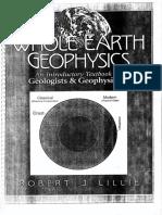 Whole Earth Geophysics - Robert J Lillie