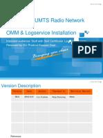 U_TM_ZXUR 9000 UMTS Radio Network Controller - OMM & Logservice Installation_R2.1