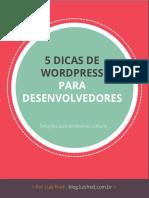 5 Dicas de Wordpress Para Desenvolvedores