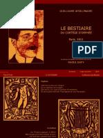 Artyuiop7A Guillaume Apollinaire Le Bestiaire