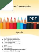 Effective Characteristics of Communication