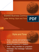 Letterwriting_StyleandToneBCOM.ppt