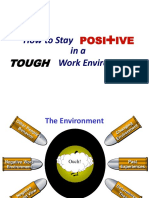 Stay Positive in a Tough Work Environment