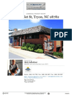 Live and work in your own commercial building in Tryon