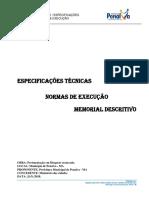 1. Memorial Descritivo - Paralelepipedo