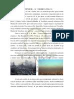 Interferência da Poluição do Ar na Saúde dó Cérebro