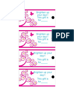 Gift Tag Template 32