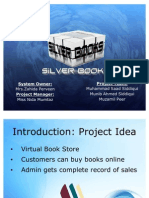 Presentation Silverbooks Website