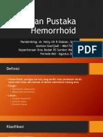 Presentasi Hemorrhoid