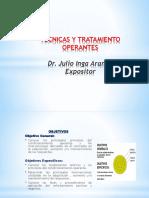 1técnicas y Tratamiento Operantes