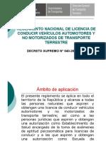 Reglamento Nacional de Licencias de Conducir.pdf