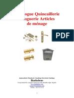 Cataloguرe-quincaillerie