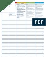 Lista de Cotejo de Proyectos + rubrica