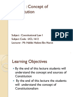 Topic 1 Constitution