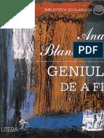 Blandiana Ana - Geniul de a fi (Cartea).pdf