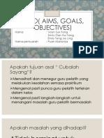 Ago( Aims, Goals, Objectives)