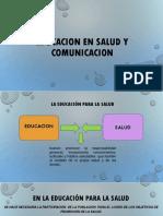 Educacion en Salud y Comunicacion