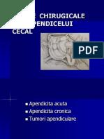 5. Bolile Chirurgicale Ale Apendicelui Cecal