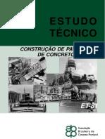 ET81 Construcao Pav Conc Simples