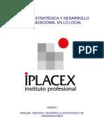 Gestión Estratégica y Desarrollo Organizacional en Lo Local