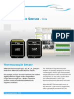 TCXX Thermocouple Sensor