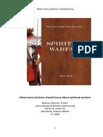 Spiritual Warfare and Deliverance
