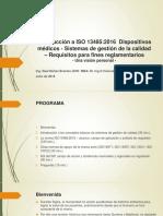 Introducción a ISO 13485-2016