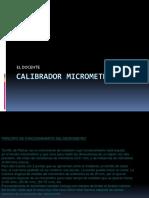 CALIBRADOR MICROMETRICO