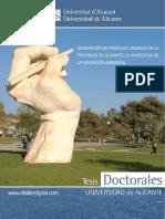 Generacion de Residuos Urbanos en La Provincia de Alicante La Incidencia de La Educacion Ambiental