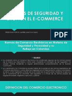 Normas de Seguridad y Ética en El E-commerce