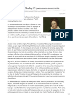 Miseshispano.org-El Radicalismo de Shelley El Poeta Como Economista