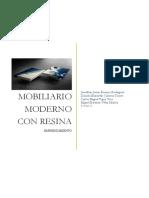 Mobiliario Moderno- Resina, Cabrera,Briones, Tapia Velez