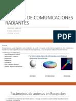 Parámetros de antenas en Recepcion