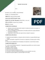 Proiect Didactic Moromeții