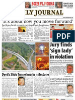 0930 issue of the Daily Journal