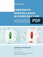 Corporate Surveillance in everday Life