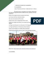 Anexos de Danza en Cajamarca
