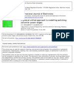 A General Unified Approach to Modelling Switching-converter Power Stages