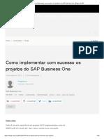 Como Implementar Com Sucesso Os Projetos Do SAP Business One _ Blogs Da SAP