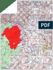 Taylor Creek Fire Map July 30
