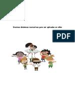 Diversas Dinámicas Recreativas Para Ser Aplicadas en Niños