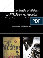From The Battle of Algiers to Alien vs. Predator