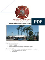 Procedimientos Del Comando de Incidentes - DBCO