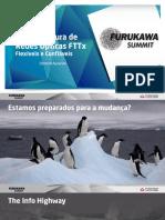Infraestrutura de Redes Opticas Fttx Flexiveis e Confiaveis
