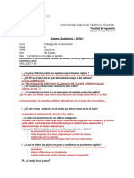 Exame RESUELTO Susutitutorio 2018-I