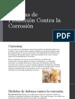 Medidas de Protección Contra La Corrosión