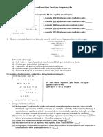 Programação exercícios.pdf