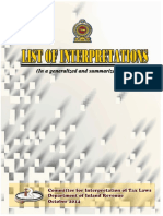 Interpretations Rulings Book - Set II
