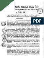 Ejemplo de Resolucion Regional en Ica